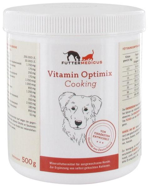Hundefutter Selber Kochen Mit Vitamin Optimix Cooking Futtermedicus